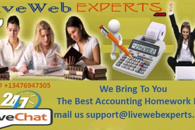 WE BRING TO YOU THE BEST ACCOUNTING HOMEWORK HELP