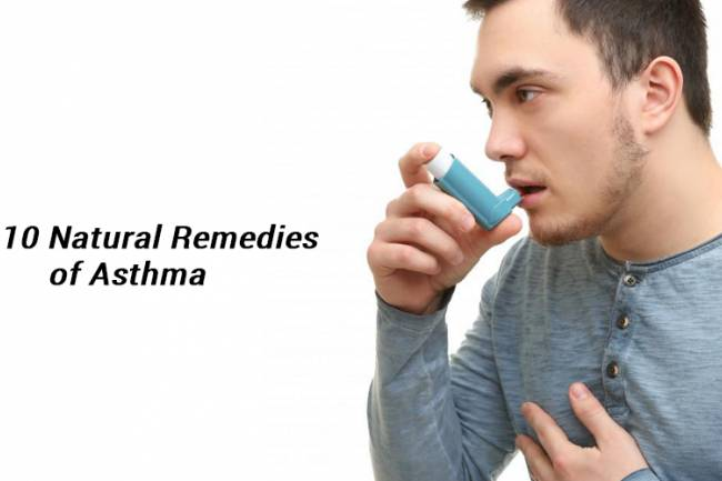 Top 10 Natural Remedies of Asthma