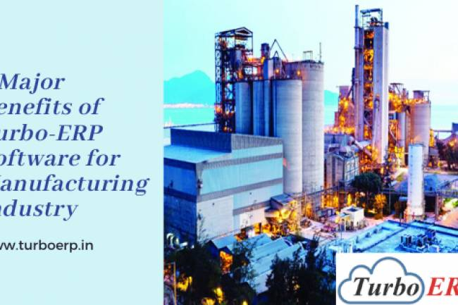 ERP for Manufacturing Industry