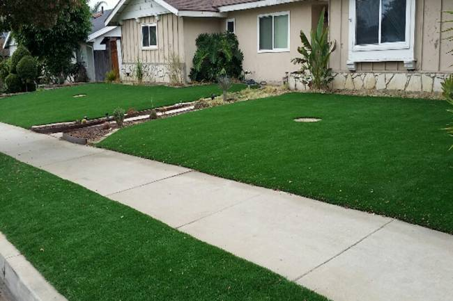 What Band Do You Put Under Artificial Grass?
