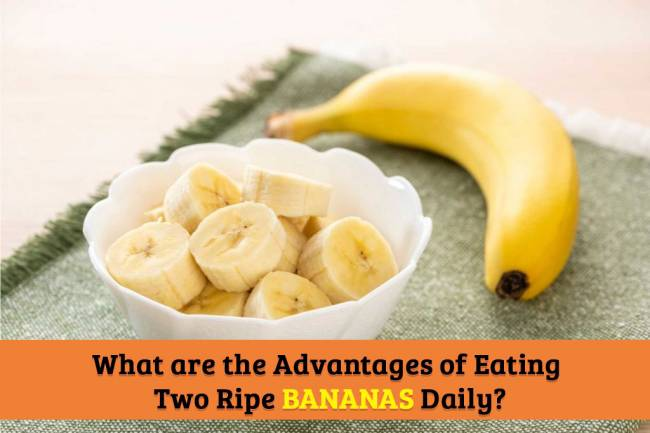 What are the Advantages of Eating Two Ripe Bananas Daily