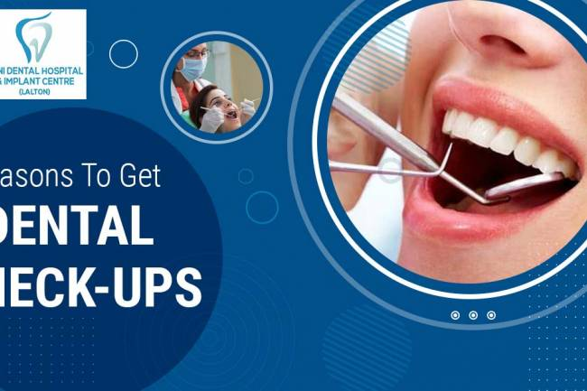 What are the reasons you should not skip regular dental check-ups?