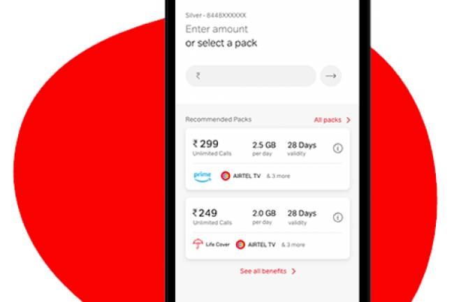 Learn to do Online Mobile Recharge through Airtel Thanks App