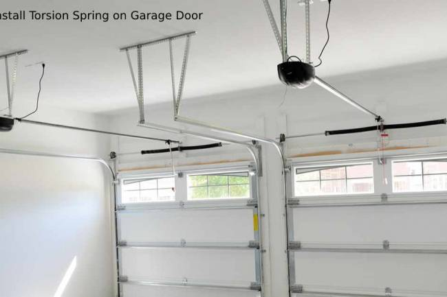 How to Install Torsion Spring on Garage Door