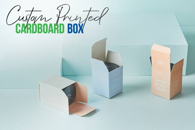 BRANDING TECHNIQUES FOR CUSTOM PRINTED CARDBOARD BOX