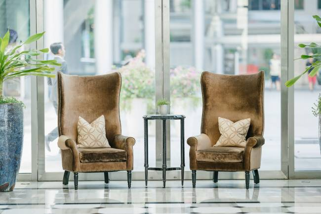 Types of leather used in dining chairs