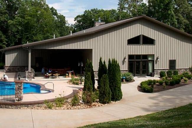 Unique Designer Ideas for Creating the Metal Building Home