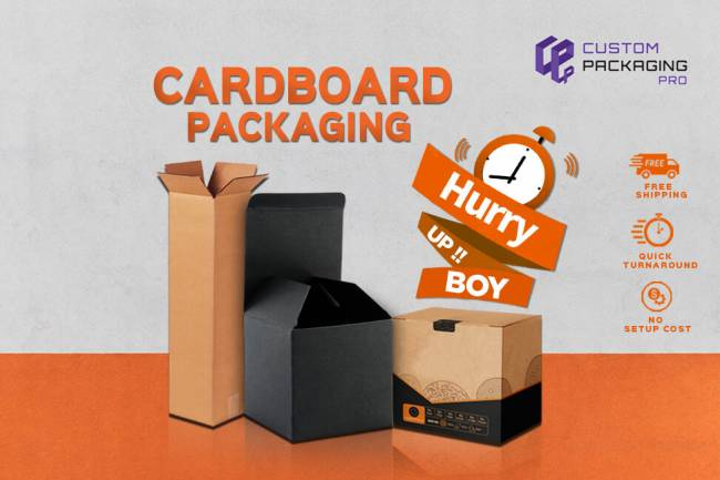 Cardboard Packaging and Their Special Qualities