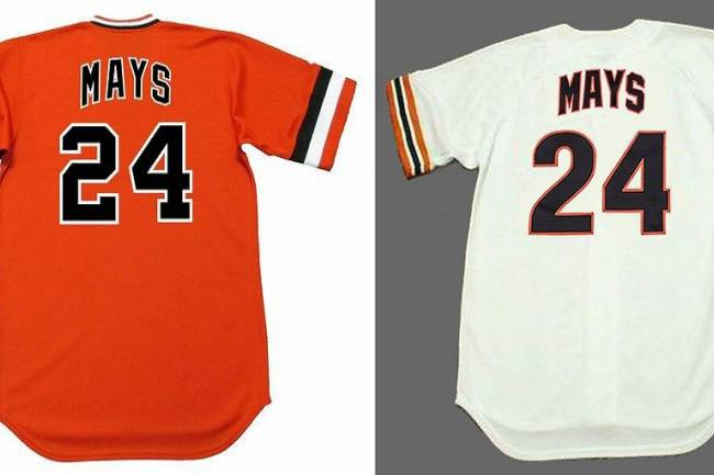 Honor The Oldest Baseball Hall of Famer with a Willie Mays Jersey