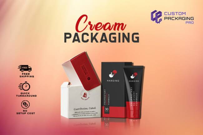 Product Specific Designs For Printed Cream Boxes