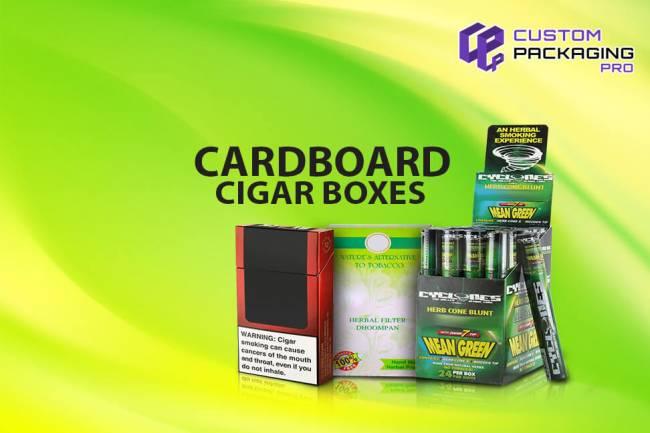 Assure Fancy Display in Custom Cardboard Cigar Boxes