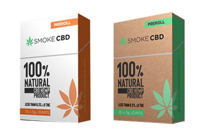 Cannabis cigarette box for impressive appearance to create recognition