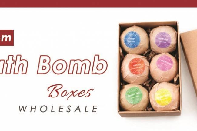Leave An Instant Impression with Custom Bath Bomb Boxes
