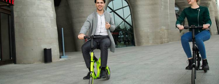 Easy to Recharge and Convenient to Carry Electric Scooters and Bikes