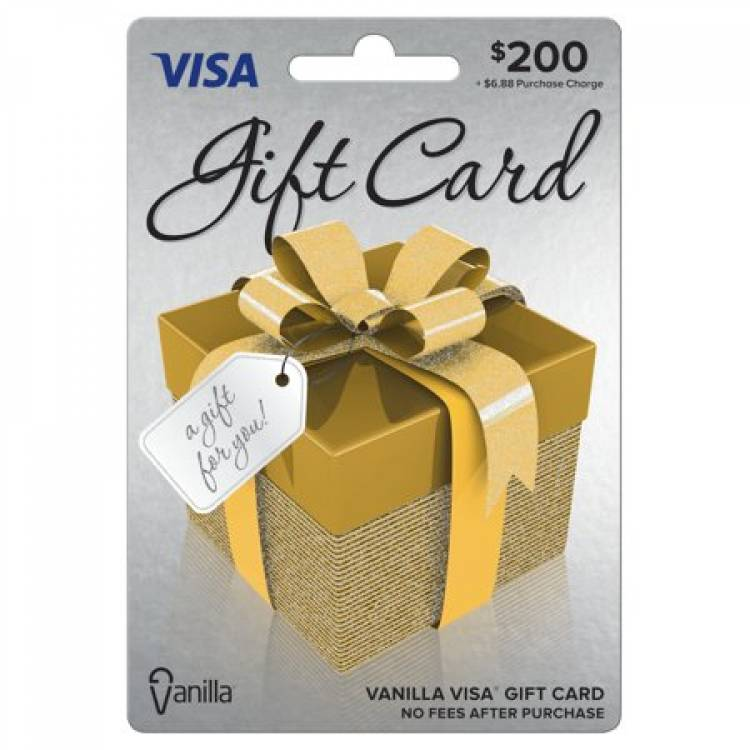How does the prepaid visa gift card works?