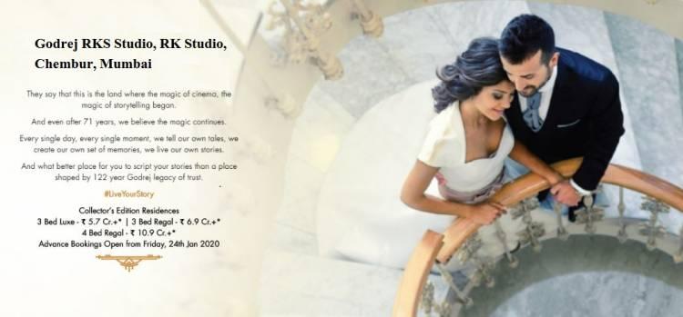 Godrej RKS Luxury Residential Project by Godrej Properties, Chembur Mumbai