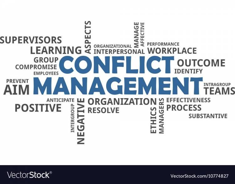 Understanding the Challenging Conversations of Conflict Management