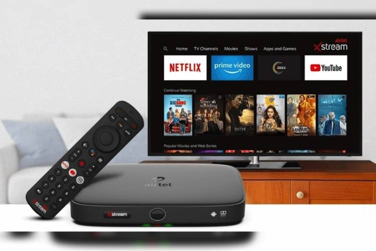 Experience the New World of Entertainment with Airtel Xstream