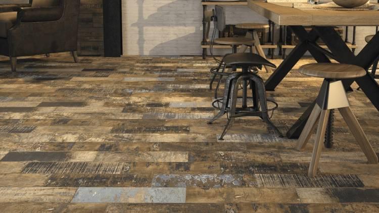 Rustic Style In Ceramic Tiles