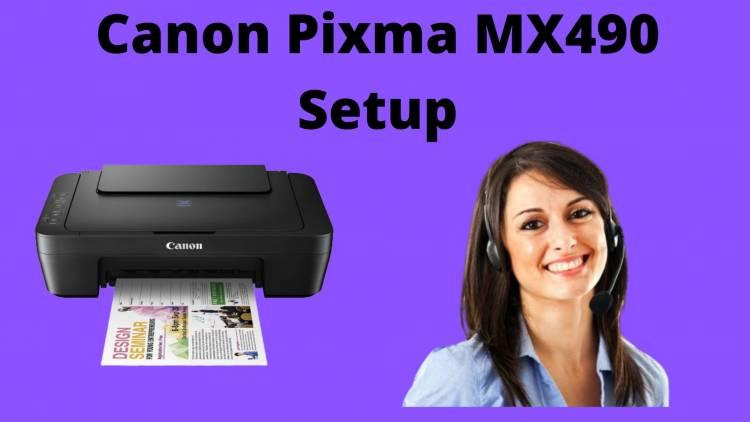 Processes to Connect Canon MX492 Printer to WiFi