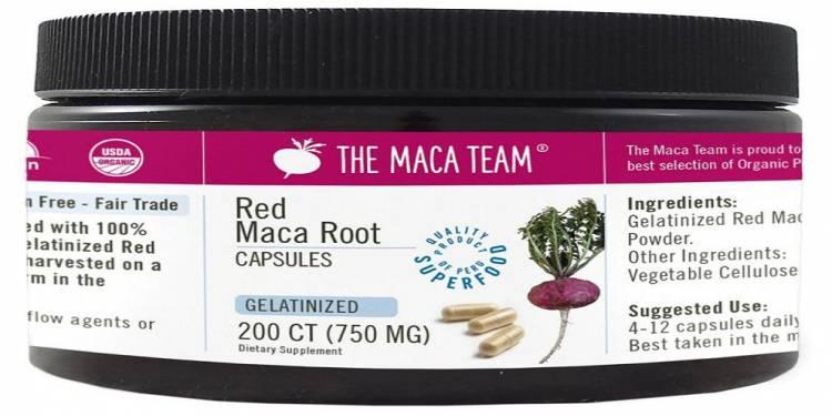 Using Gelatinized Red Maca Powder for Menopause Relief