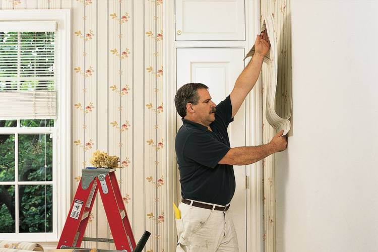 How can wallpaper fixing services give a great look of walls in home?
