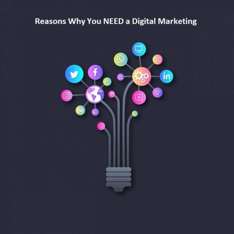 Reasons Why You NEED a Digital Marketing Agency